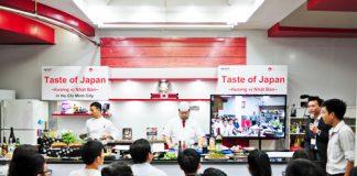 hương vị ẩm thực Nhật Bản