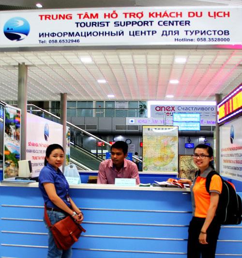 Nha Trang: Triển Khai Trung Tâm Hỗ Trợ Du Khách Tại Sân Bay Cam Ranh